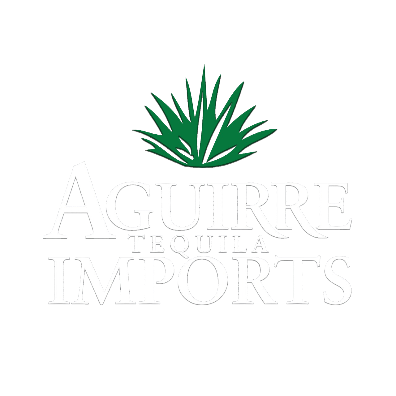 AGUIRRE IMPORTS LOGO WHITE PNG